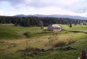 la Bramande et les Monts Jura
