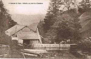 Moulin-scierie de Magras au début du 20e siecle