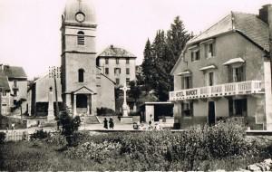 La Pesse (Alt. 1160 m) le plus haut village du jura Français.