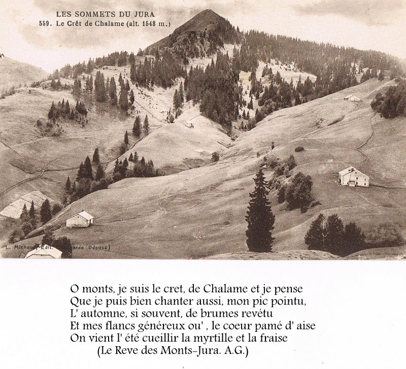 Les Moussières,Les Bouchoux,La Pesse par les cartes postales anciennes