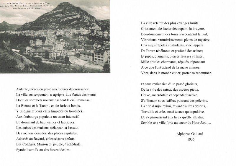 Saint-Claude par les cartes postales anciennes
