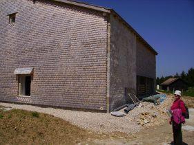 2/La ferme de l'Enversy reconstruite au musée de Nancray pendant l' été 2009
