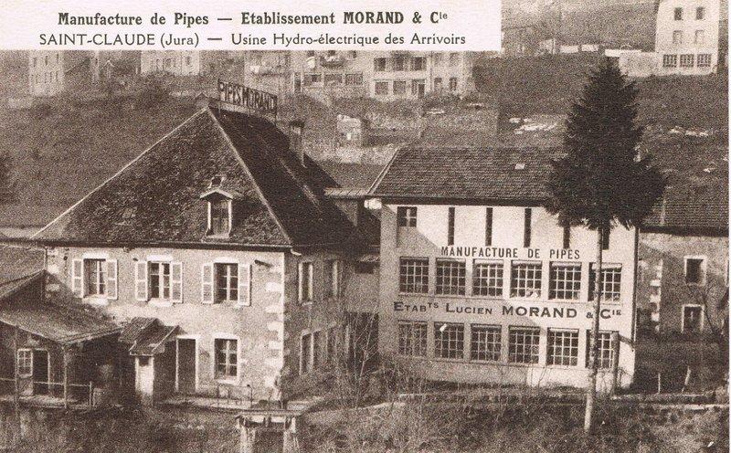 Industries et cartes postales anciennes